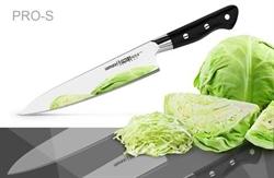 Нож кухонный стальной Шеф Samura PRO-S SP-0085/G-10