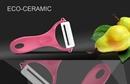 Овощечистка керамическая Samura Eco-Ceramic SCP-100RS