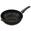 Сковорода-вок для индукционной плиты AMT I-1128 cо съемной ручкой