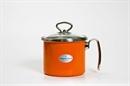 """Эмалированный молочник Schwerter-email 90.14.120.02 серия """"Оранжевый"""" 1,7 литра"""