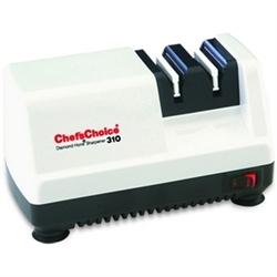 """Точилка электрическая для заточки ножей, белая """"Chef'sChoice"""", США CC310W"""