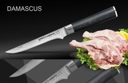 Нож кухонный стальной обвалочный Samura Damascus SD-0063/G-10