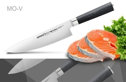 Нож кухонный стальной Шеф Samura Mo-V SM-0085/G-10