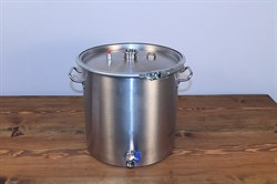 Luxstahl 3  котел 50 литров  под  царгу 1.5 дюйма - фото 7526