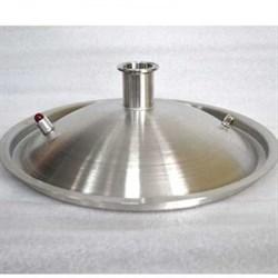 Крышка купольная 25 литров под кламп 2 дюйма - фото 7661