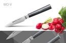 Нож кухонный стальной овощной Samura Mo-V SM-0010/G-10