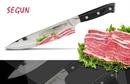 Нож кухонный Samura SEGUN Шеф, AUS-10, 3 слоя, G-10 SS-0085/G-10