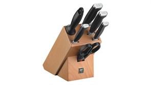 Набор ножей в подставке, 7 пр.,TWIN Four Star II