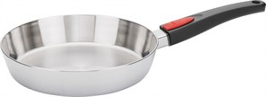 Сковорода WOLL h-5 см, d-24 см (съемная ручка) 1524CO