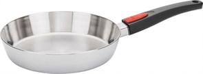 Сковорода WOLL h-5 см, d-28 см (съемная ручка) 1528CO