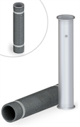 Luxstahl 8 Царга 3 с утеплителем 50 см